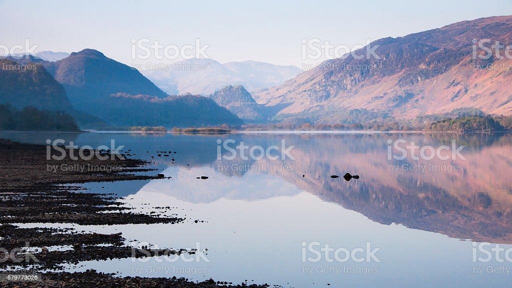 Derwent Water stock photo