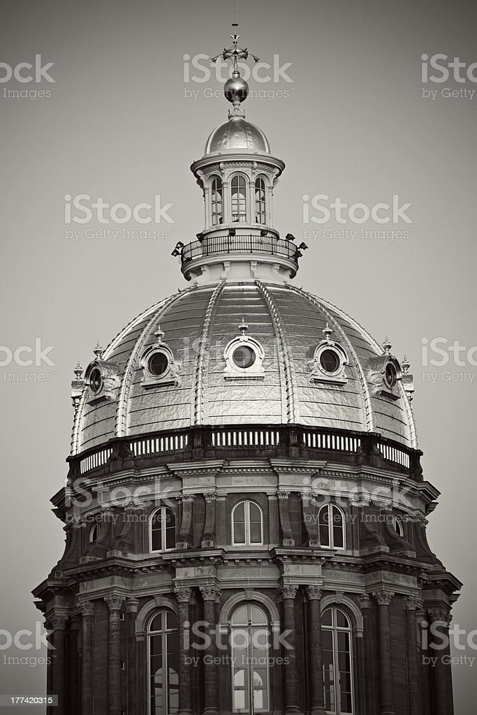 Des Moines - State Capitol Building royalty-free stock photo
