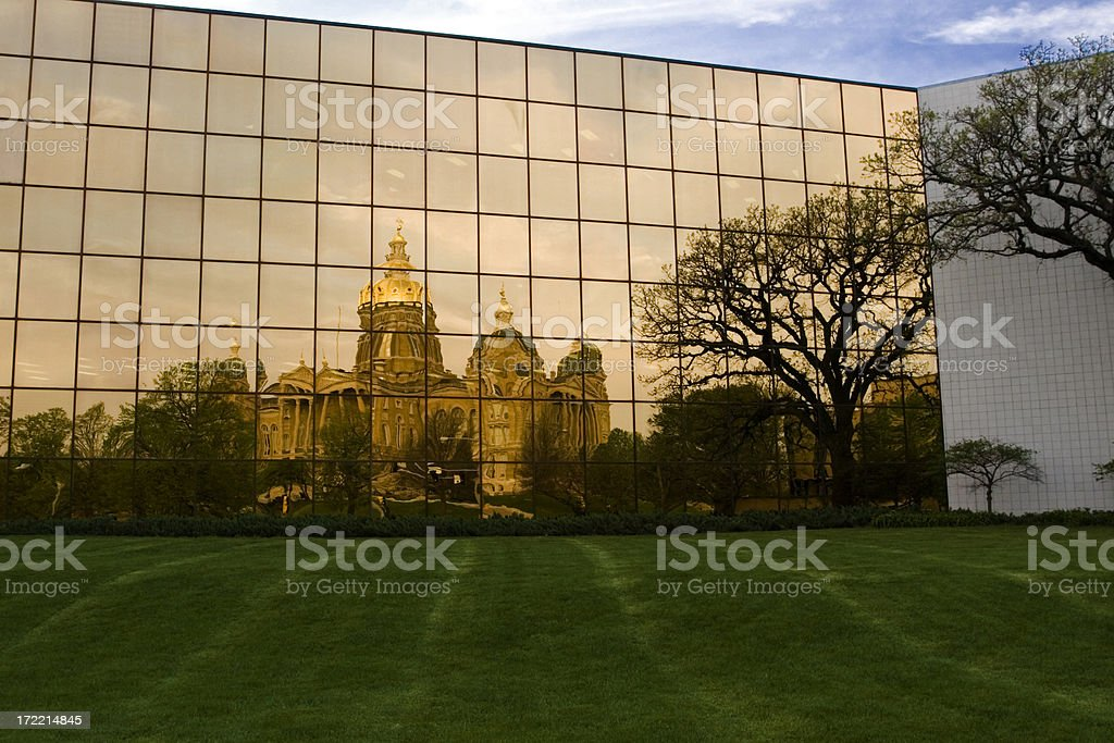 des moines statehouse royalty-free stock photo
