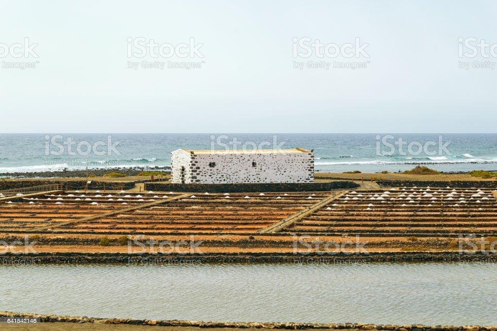 Desalination Facility stock photo