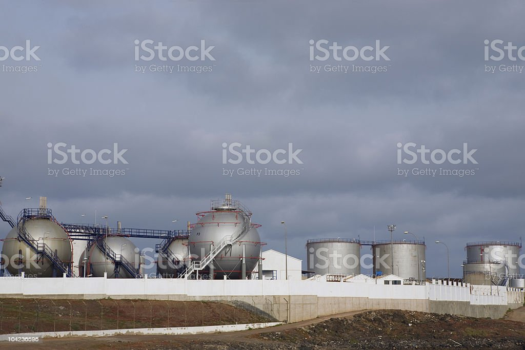 Desalination Plant royalty-free stock photo