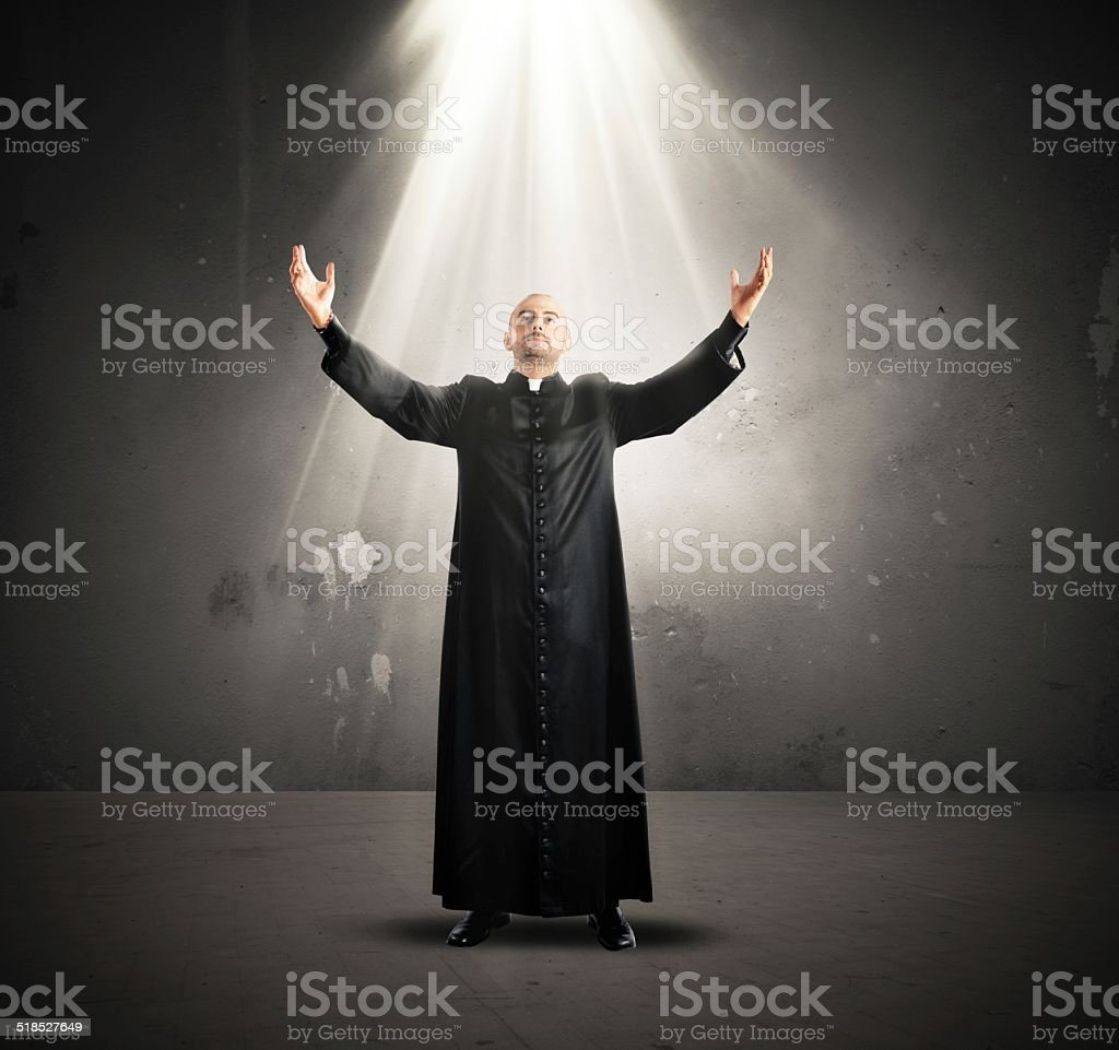 Descent of the Holy Spirit stock photo