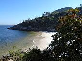 Desert Beach in Rio de Janeiro, Brazil