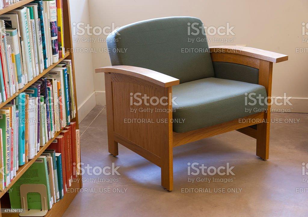 Desert Botanical Garden Schilling Library Books Furniture Phoenix United States royalty-free stock photo