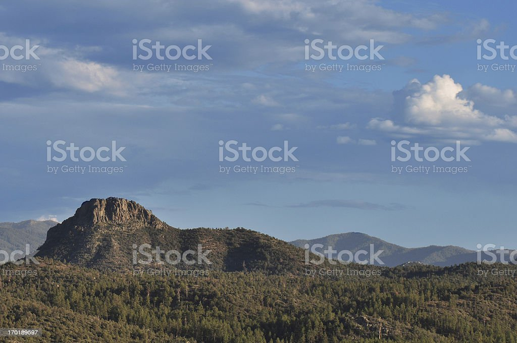 Desert Butte stock photo