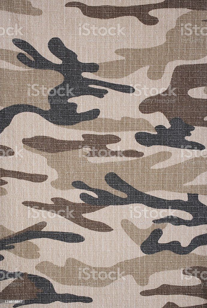 Desert  Camo royalty-free stock photo