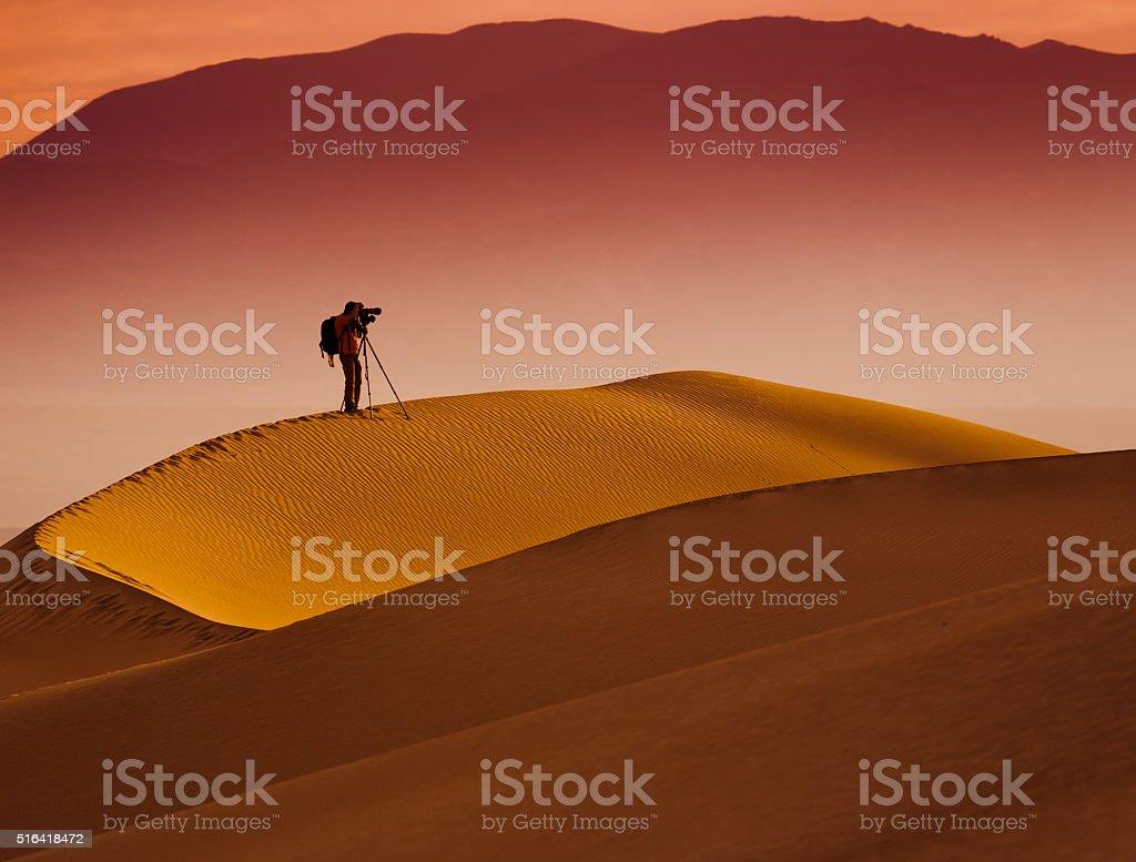 Desert Death Valley stock photo