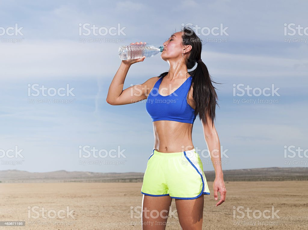 Desert Dehydration stock photo