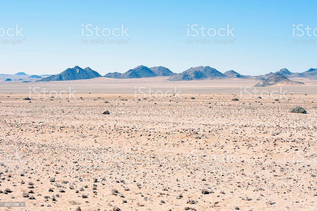 Desert desolation, Namib Desert, Namibia, Africa stock photo