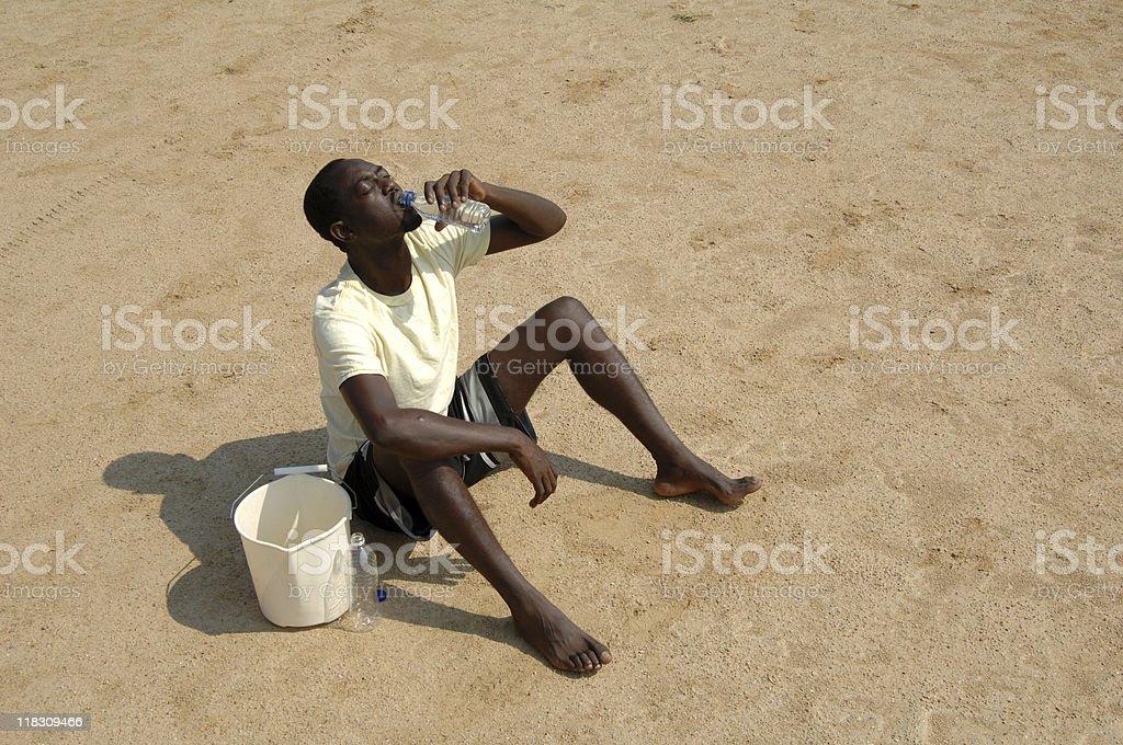 desert drink stock photo