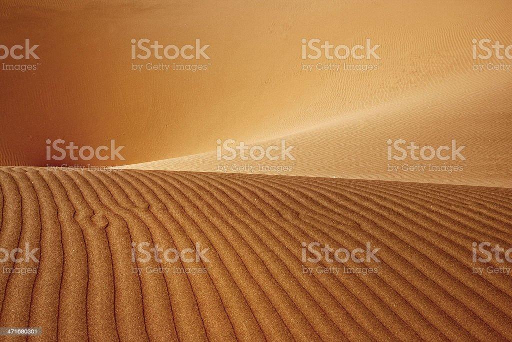 Desert Dune Abstract stock photo