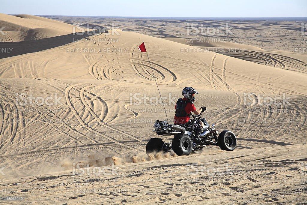Desert Dune Trail Adventure royalty-free stock photo