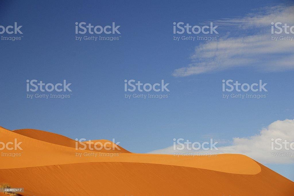 Desert Dunes - Africa, Morocco stock photo