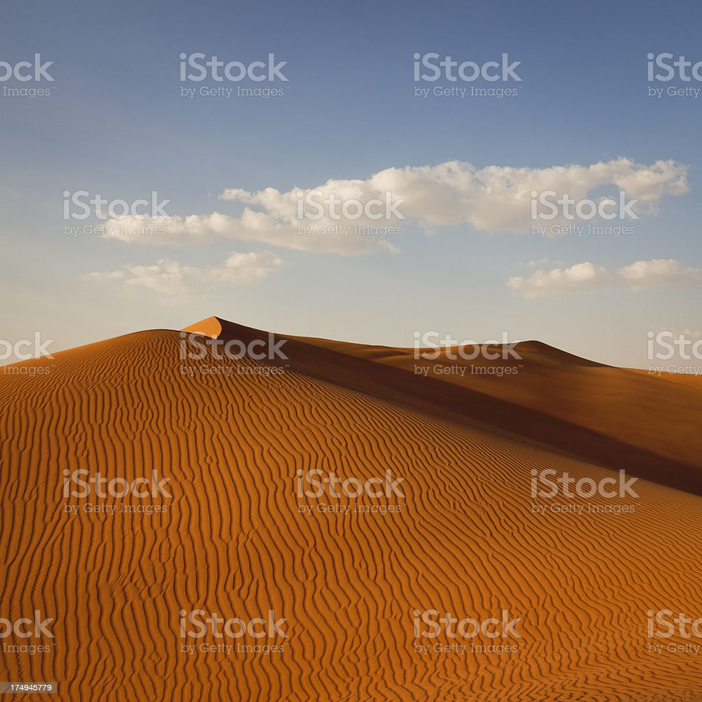 desert dunes royalty-free stock photo