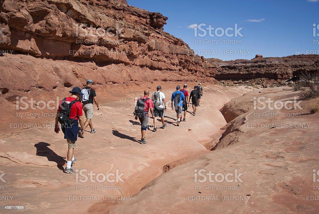 desert explorers stock photo