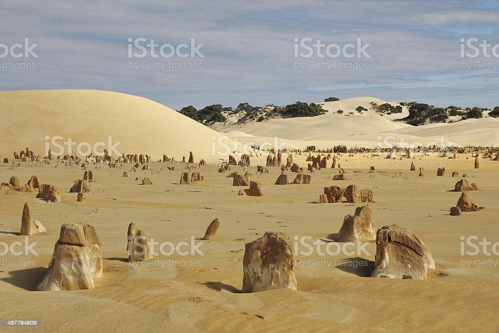 Desert far away stock photo