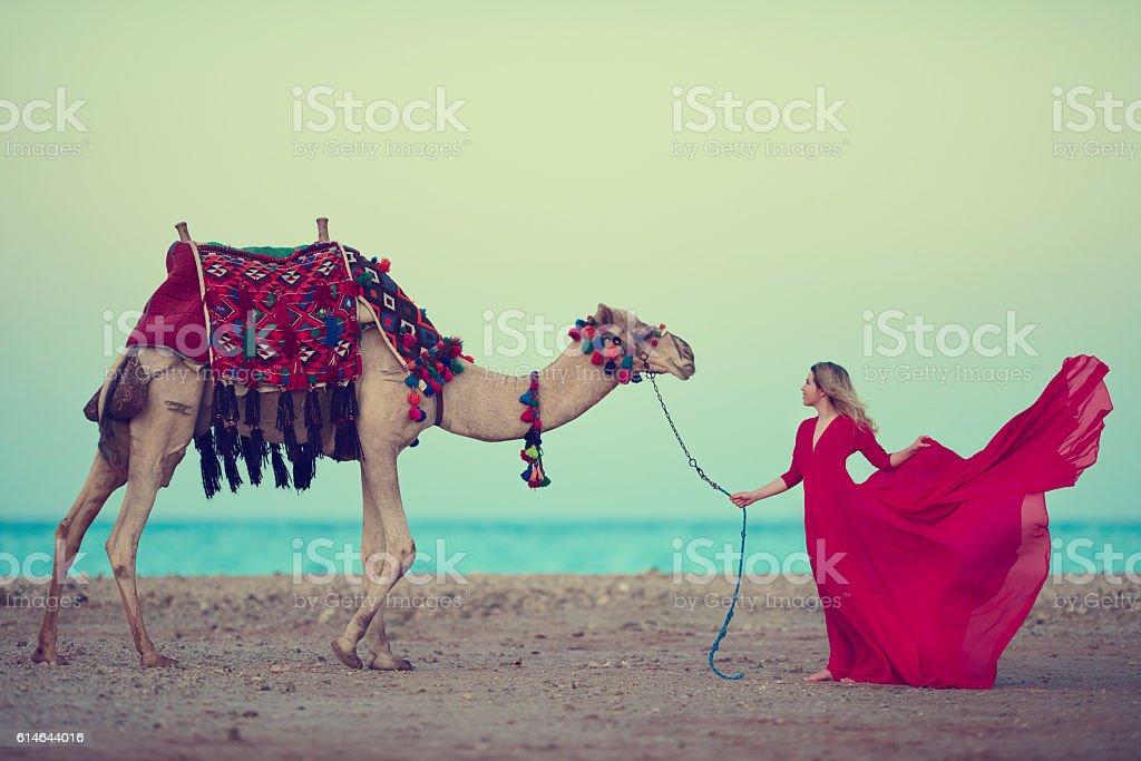 desert feelings stock photo