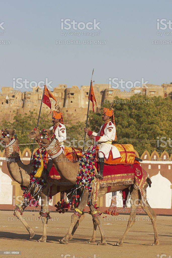Desert Festival stock photo