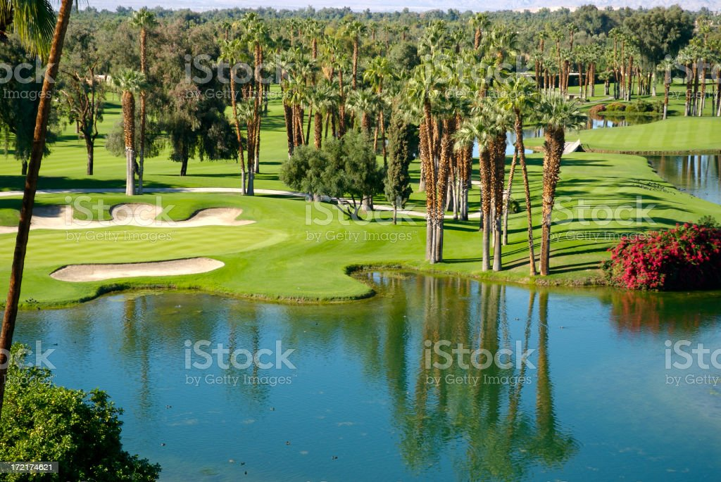 Desert Golf Series royalty-free stock photo