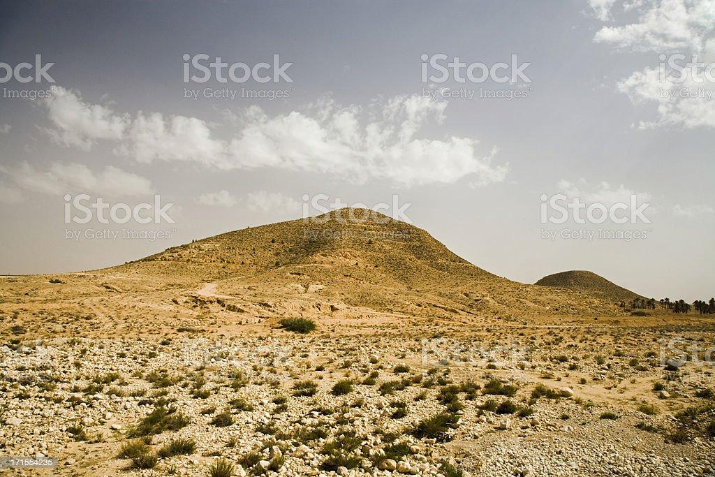 desert hills matmata tunisia royalty-free stock photo