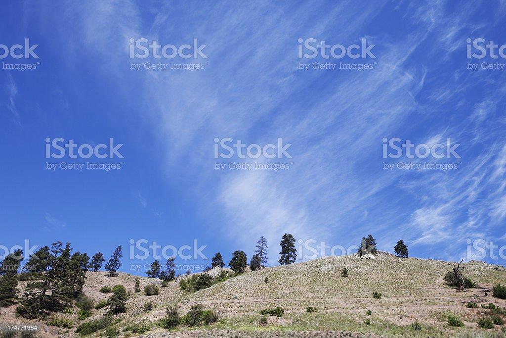 Desert hills royalty-free stock photo