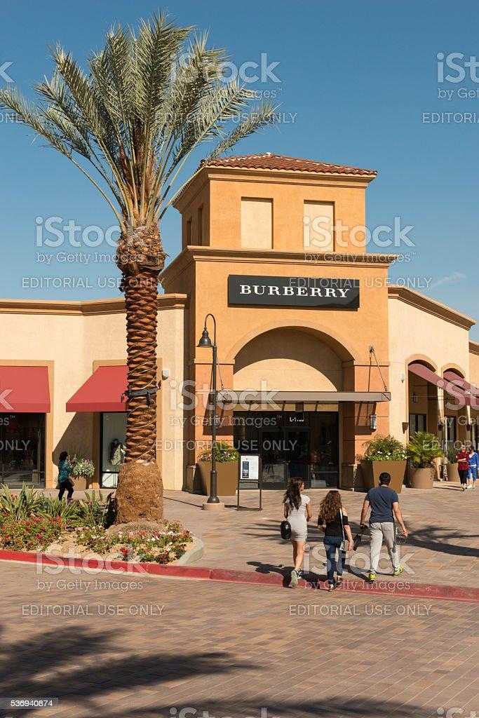 Desert Hills Premium Outlets stock photo