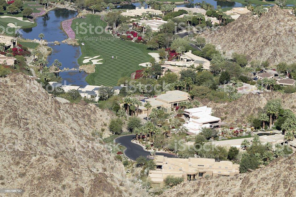 Desert Homes stock photo