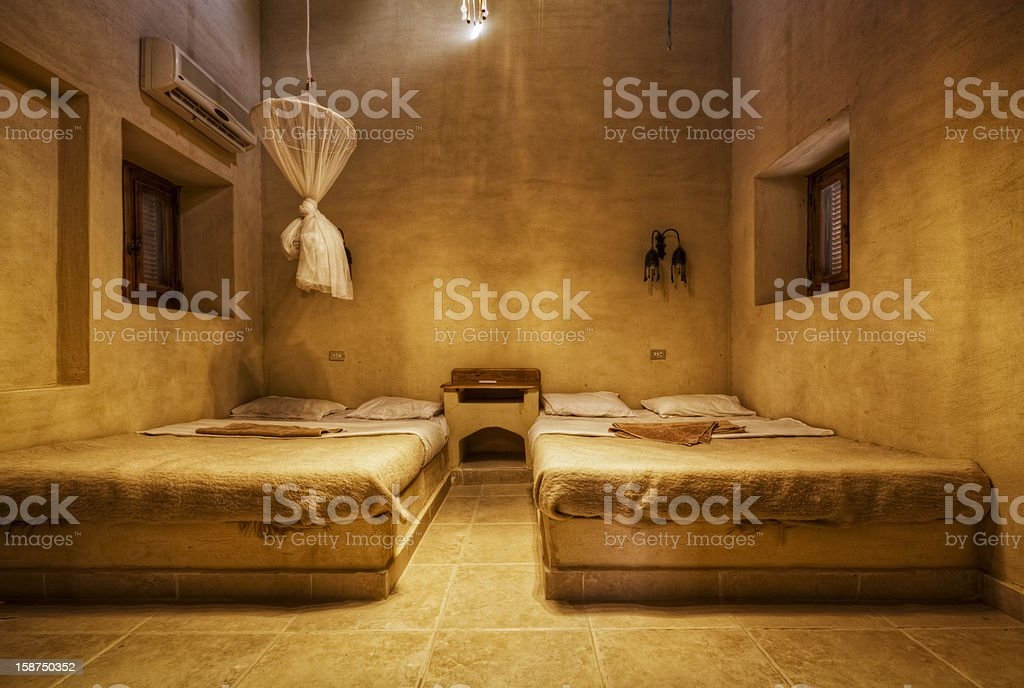 Desert Hotel royalty-free stock photo