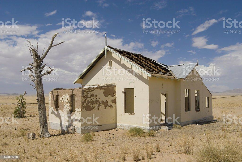Desert House stock photo