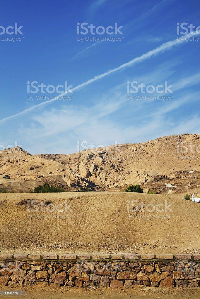 Desierto en Egipto foto de stock libre de derechos