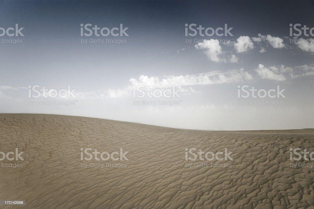 Desert Landscape Sahara Dune royalty-free stock photo