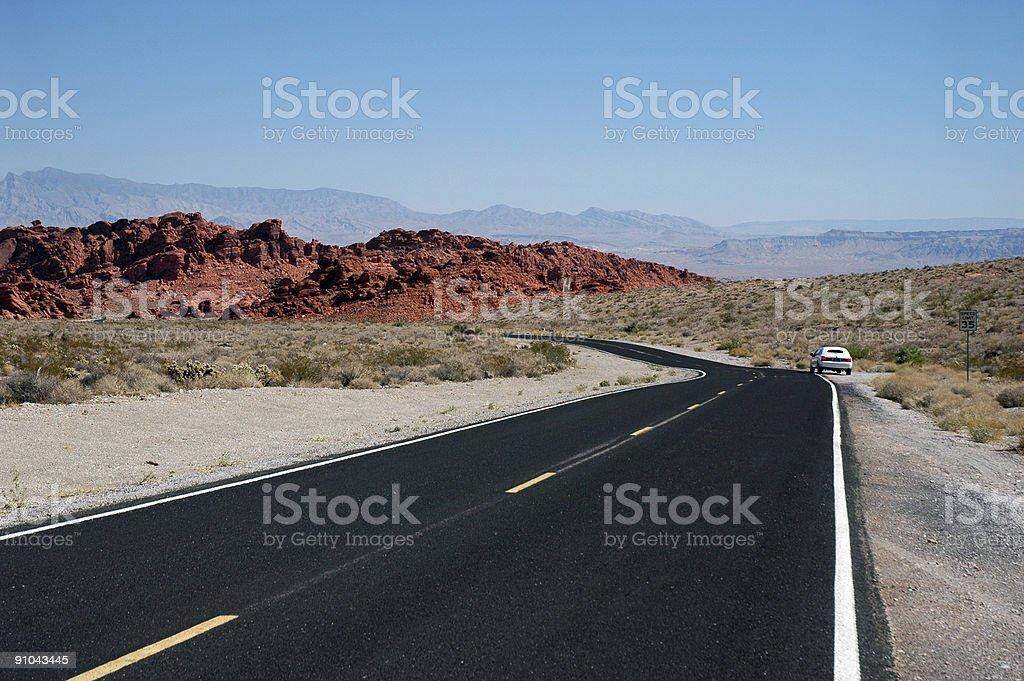 Desert Limousine royalty-free stock photo