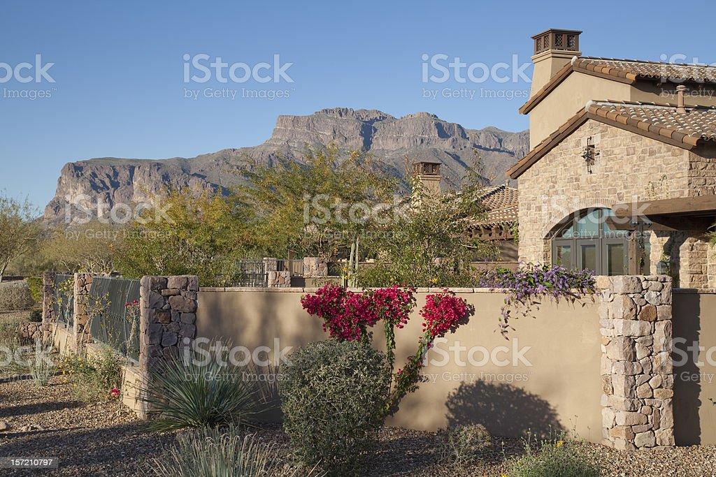 Desert Luxury stock photo