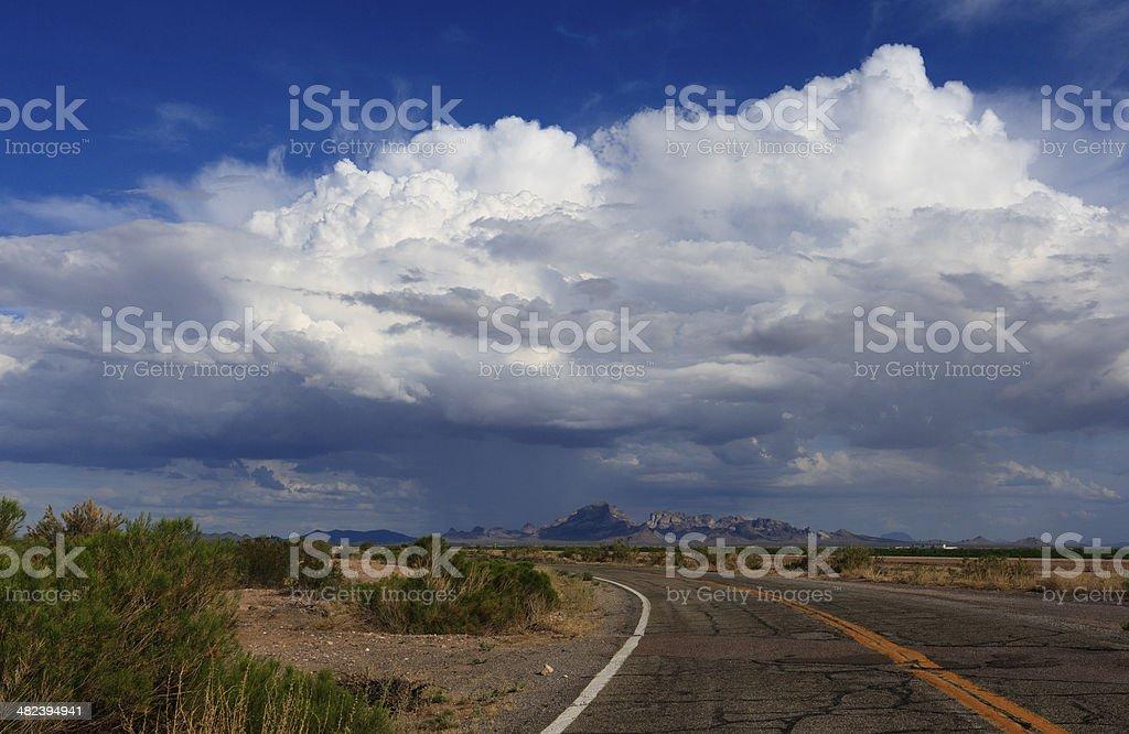 Desert Monsoon stock photo