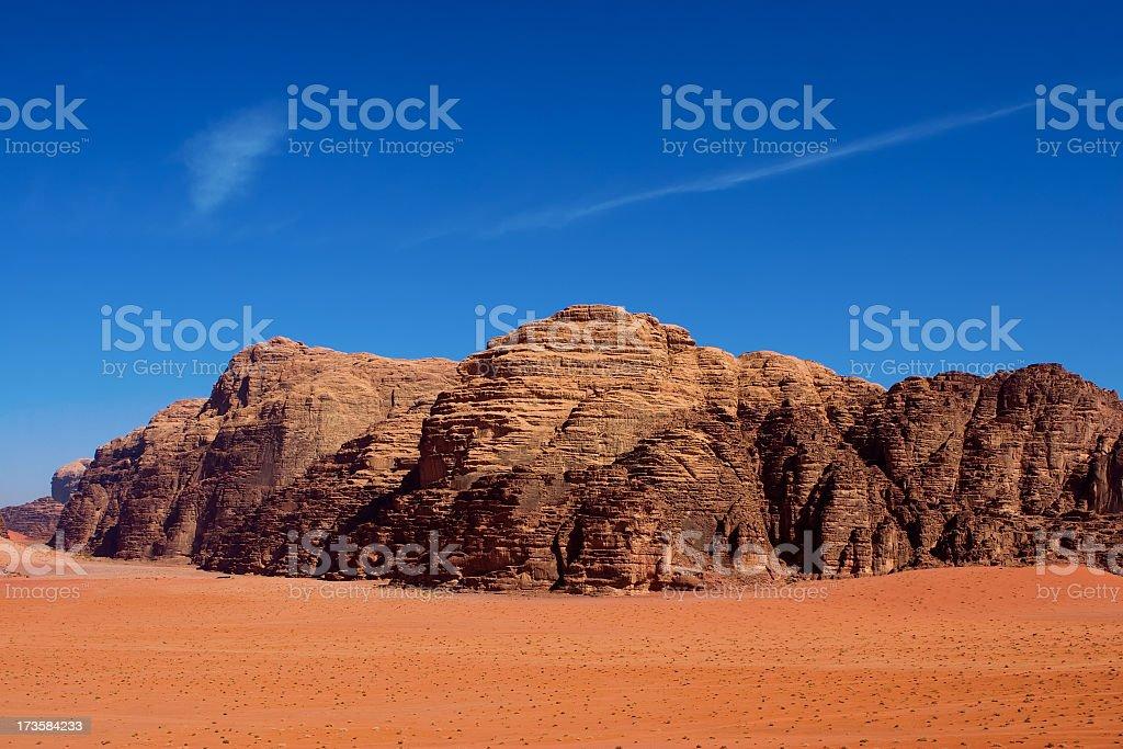 Desert Mountains royalty-free stock photo