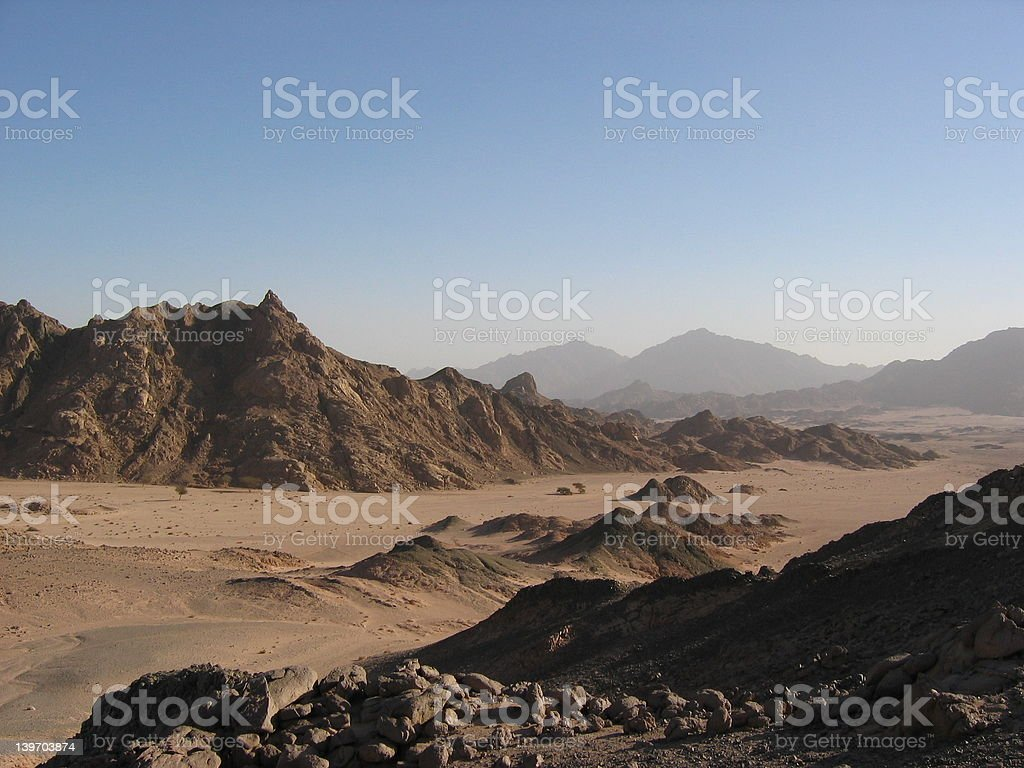Desert or Mars? royalty-free stock photo