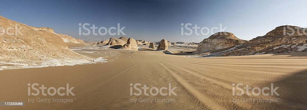 Desert panorama royalty-free stock photo