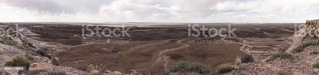 Desert Panorama stock photo