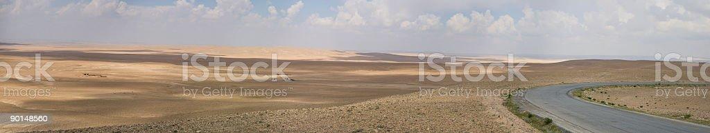 Desert Panoramic stock photo