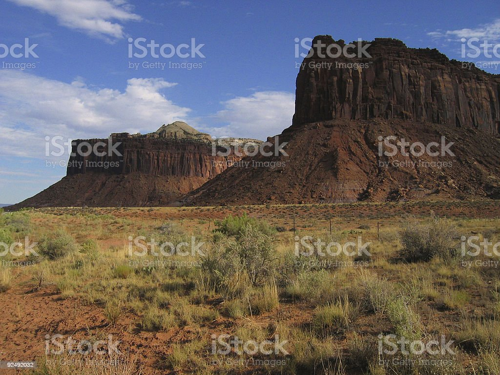 Desert Plateau royalty-free stock photo
