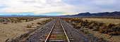 Desert Railroad Panorama