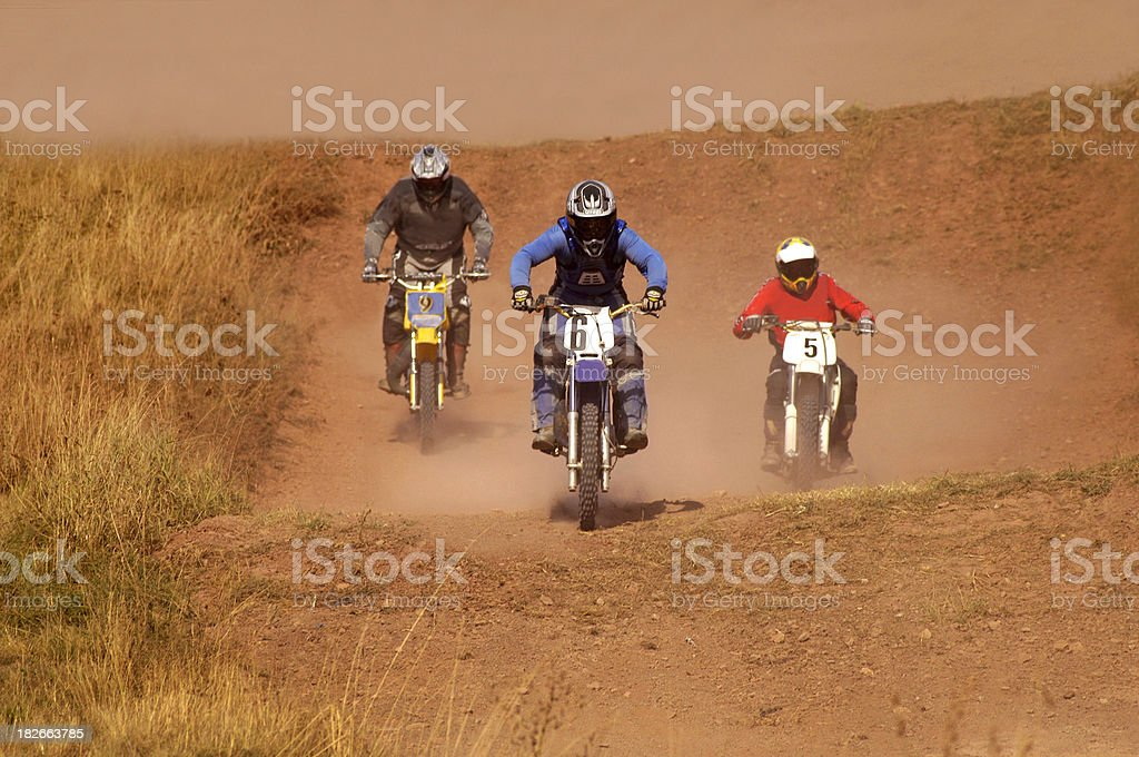 Desert Rally stock photo