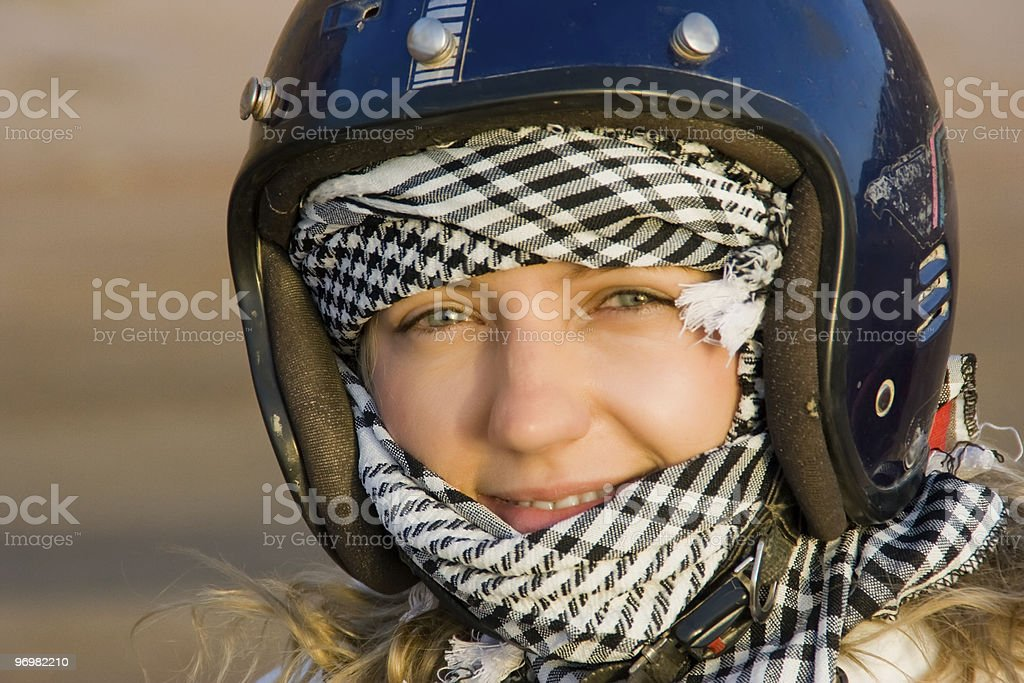 Desert rider royalty-free stock photo