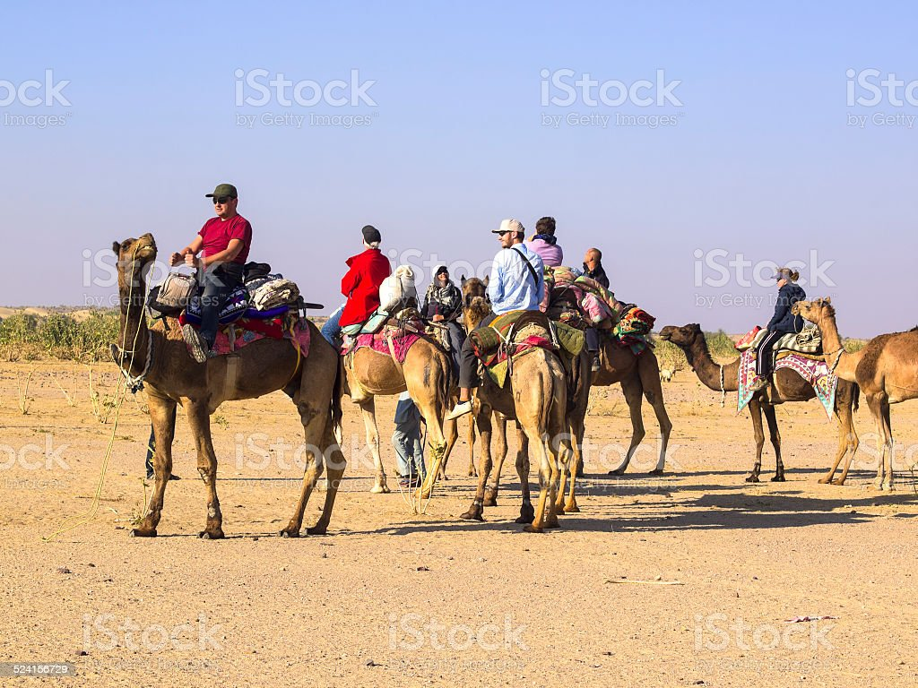 Desert Riders stock photo