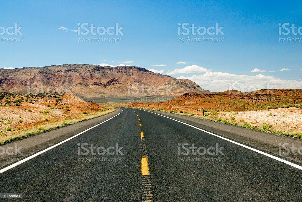 desert road royalty-free stock photo