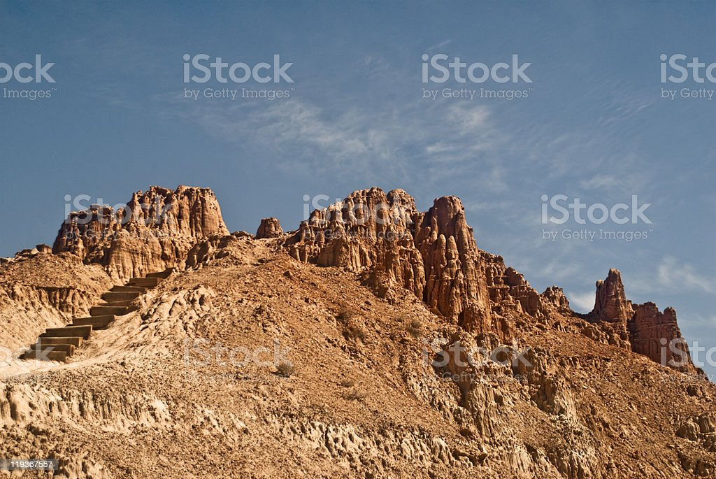 Desert Rock Formation stock photo