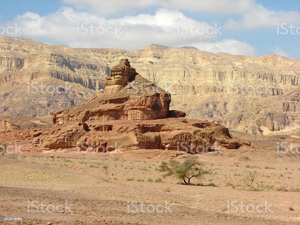 Desert Rocks stock photo