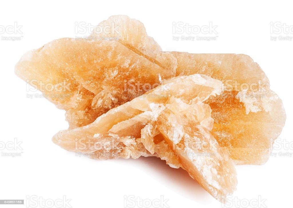 Desert rose crystal stock photo
