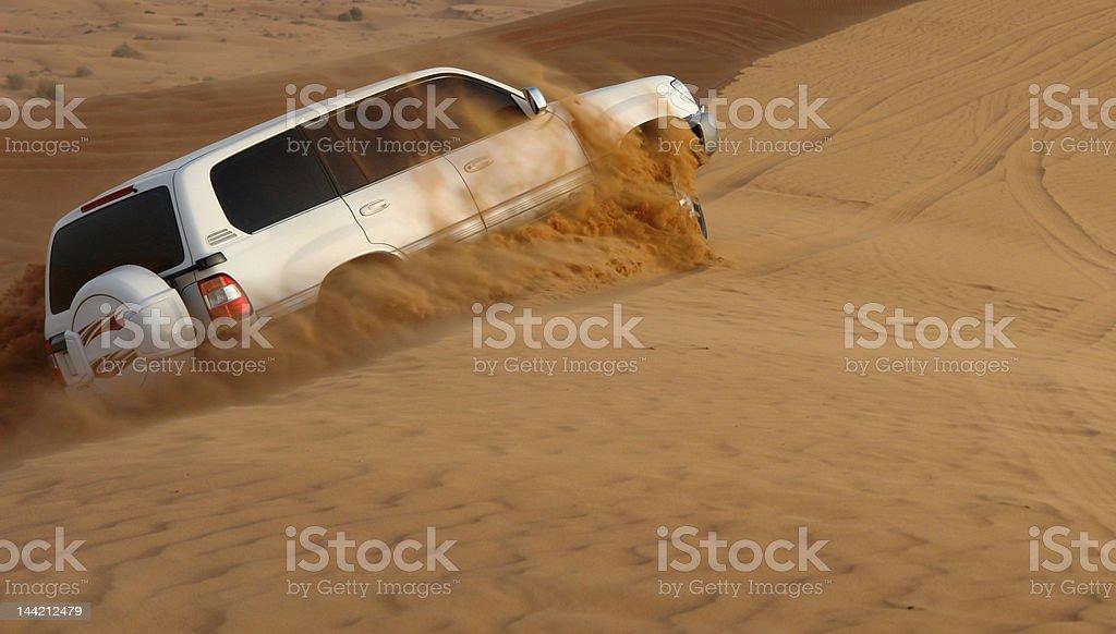 Desert Safari Adventure stock photo