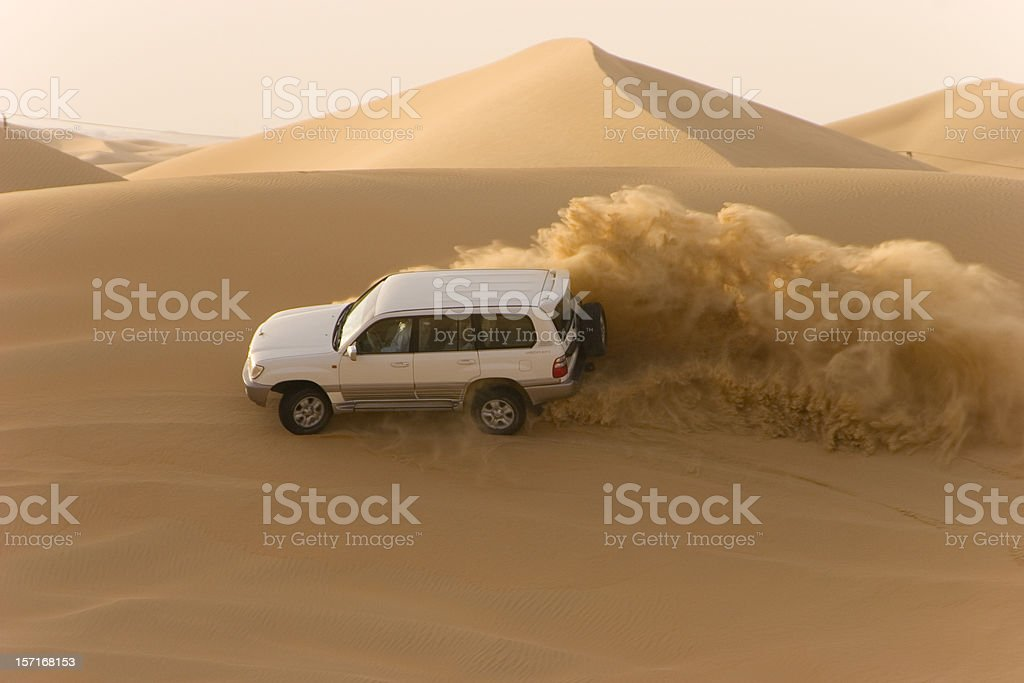 Desert safari stock photo